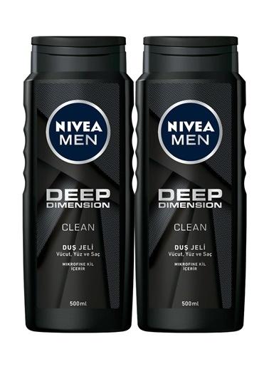 Nivea Men Invisible Black&White Original Erkek Deodorant Stick 40 Ml 2'Li Renkli